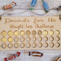 3 stone weight loss chart. Pound for lbs tracker.
