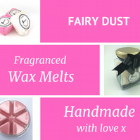 Fairy Dust Soy Wax Melt for use in wax & oil burners