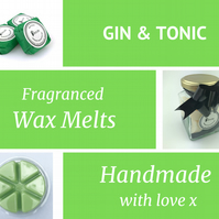 Gin and Tonic Soy Wax Melt for use in wax & oil burners