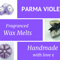 Parma Violet Soy Wax Melt for use in wax & oil burners