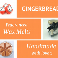 Ginger Bread Soy Wax Melt for use in wax & oil burners