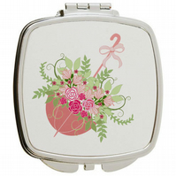 Compact Mirror the Perfect Bridesmaid Gift or Mother's Day gift