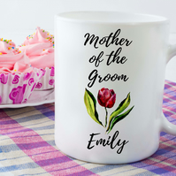 Personalised Wedding Ceramic Mugs, Great for Wedding Party Gifts or Bridesmaids
