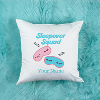 Best Friends Decorative Throw Pillow, Sleepover Squad friend pillow,