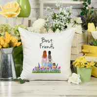 Best Friends Pillow, the perfect Best Friend Long Distance gift