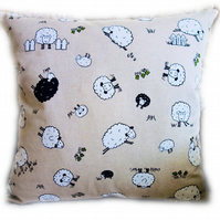 Cushion, Character Sheep design Throw Pillow