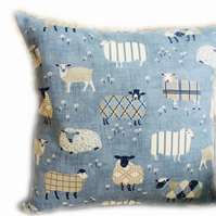 Cushion, Sheep design Throw Pillow