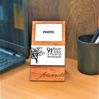 Business Card Holder, Photo Insert, Moments With Friends, Memories, Best Mate