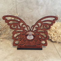 Butterfly Tea light, Butterfly Projection Butterfly Tealight, Butterfly Gift,