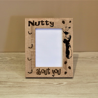 Squirrel Picture Frame, Nutty About You, Photo Frame, Special Someone,