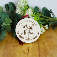 Will you be my Maid of honour proposal tag