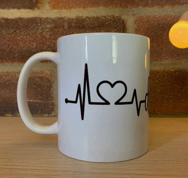 Cheese Heartbeat - Mug