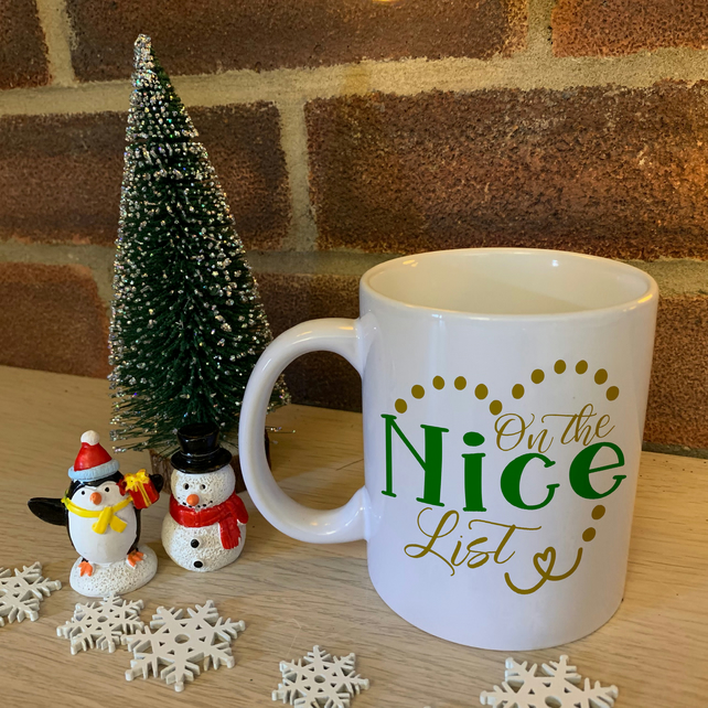 On the Nice list - Christmas Mug