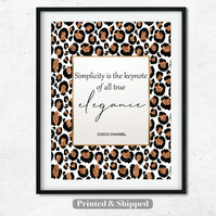 Fashion Print,Inspirational quote,Wall Art,Dressing room,bedroom decor, make up