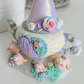 Opening Miniature Teapot, Polymer Clay Owl Figurine, Jewellery box, Ring Holder