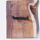 Guitar Bracket Mount Stand Yew Waney Edge Wood Hand Made One Off FREE POSTAGE