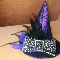 Purple Mini Witches Hat