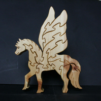 Unique Wooden Pegasus Jigsaw Puzzle