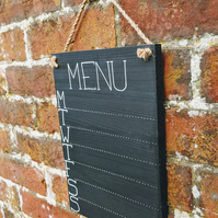 Chalk Menu Board