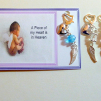 Baby Loss A Piece of my Heart is in Heaven Memorial Remembrance Sympathy Gift