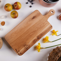 Owl Design Hand Decorated Oak Chopping Board