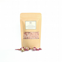 De Stress Himalayan Pink Bath Salts with Essential Oils - Stress Relief Gift