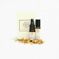 Aromatherapy Focus & Study Revision Gift Set - Essential Oil Blend & Roller