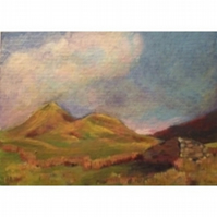 Cnicht From Croesor ACEO Ltd Ed Print