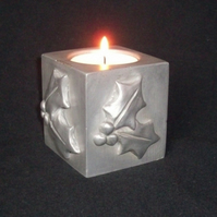 Christmas Holly Tealight Holder
