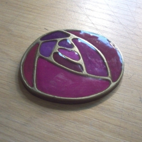 Purple Brooch (SECOND)