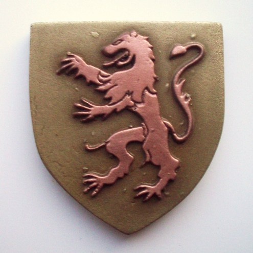Medieval Fridge Magnet