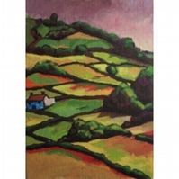 The Hill Farm ACEO Ltd Ed Print