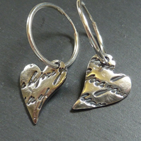 Loveletter from the heart earrings
