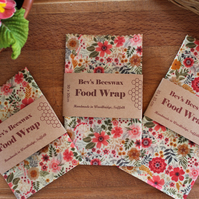 Medium Beeswax Wrap (25cmx25cm) Food Storage Natural Reusable