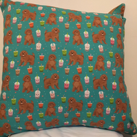Cavoodle Cavapoo Dog Cushion