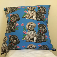 Shihtzus Cushion
