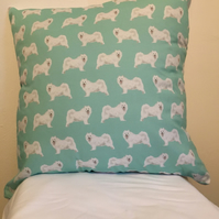 Samoyed Dog Cushion