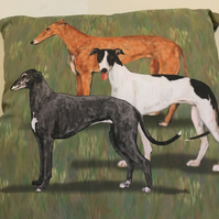 Hounds cushion
