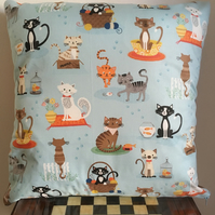 Cartoon cats cushion