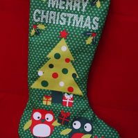 Double sided Christmas Stocking