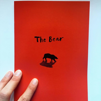 The Bear : book zine first run