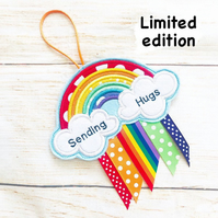 LIMITED EDITION Positivity Rainbow, Letterbox Gift, Sending Hugs, Lockdown Gift