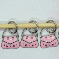 Handbag Stitch Markers, stitch markers for knitting, stitch markers for crochet