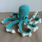 Octopus - Crochet cuddly toy, soft plush plushies softies stuffies