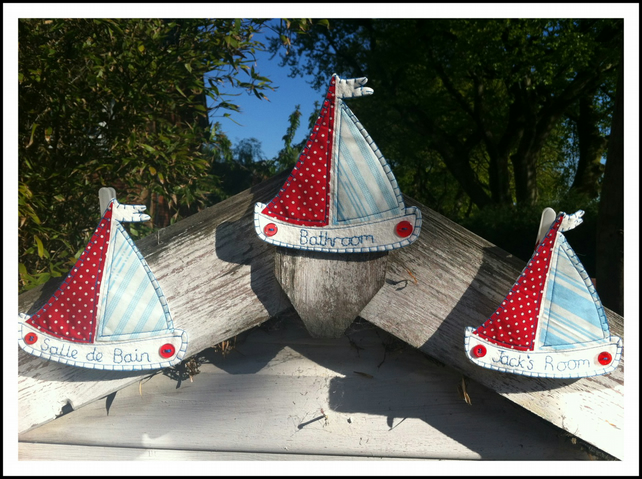 Personalised Boat Hanging
