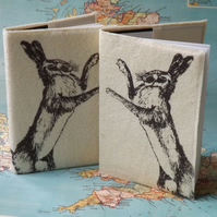 Pair Hare Medium Journals