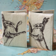 Pair Hare Small Journals