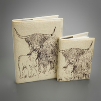 Highland Cow Medium Journal