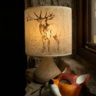 Stag Felt Lampshade