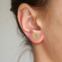 Sea Glass Studs